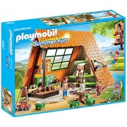 Playmobil Summer Fun Camping Lodge - sets de juguetes (Niño/niña, Multicolor, De plástico)