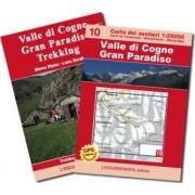 Valle di Cogne, Gran Paradiso trekking. Con cartina 1:25.000. Ediz. multilingue by Luca Zavatta