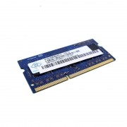 4Go RAM PC Portable SODIMM DDR3 PC3-12800S Nanya NT4GC64B88B0NS-DI CL11