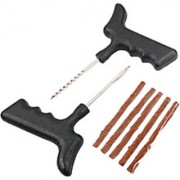 Tubeless Tyre / Tire Puncture Repair Kit for Cars and Bikes