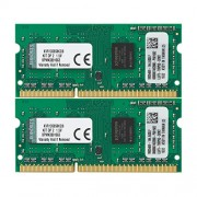 Kingston KVR13S9S8K2/8 Memoria RAM da 8 GB, Kit 2x4 GB, 1333 MHz, DDR3, Non-ECC CL9 SODIMM, 204-pin, 1.5 V