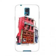 Husa Samsung Galaxy S5 Mini G800 Slim Model Old Town Bar