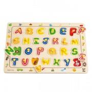 Jucarie eco din lemn Puzzle ABC Hape