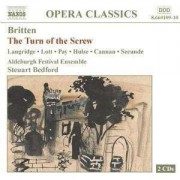 B. Britten - Return of the Screw (0730099610926) (2 CD)
