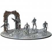 Pegasus Hobbies Terminator T-800 1:32 Figure and Diorama Set