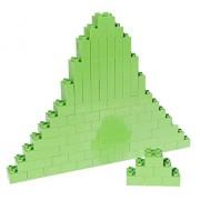 Premium Big Briks Lime Green Basic Builder Set #1 - 84 Pack - (Big LEGO DUPLO Compatible) - Large Pegs