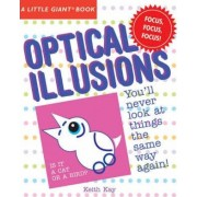A Little Giant (R) Book: Optical Illusions by Keith Kay