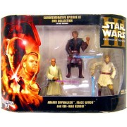 Star Wars Commemorative Episode III Revenge of the Sith DVD Collection 3-Pack Anakin Skywalker, Mace