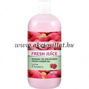 Fresh Juice krémtusfürdő lichi és málna kivonattal 500ml