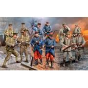 Set Figurine Infanteristi Wwi German/British/French Revell 02451