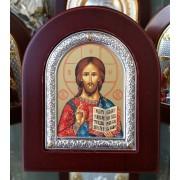 """Икона - Сребърна """"Исус Христос"""" (EK302-142XAG)"""