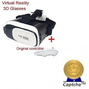 Captcha Lenovo Vibe K5 Note Compatible Vr Box 2.0 Glasses 3D Vr Headsets For 4.7~6 Inch Screen For Iphone 4S/ 5S/ 6 / 6 S /Android With Free Gift