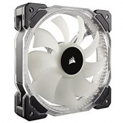 Corsair HD Series HD120 RGB LED 120mm High Performance RGB LED PWM single fan with controller