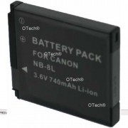 Batterie pour CANON POWERSHOT A3200 IS - Garantie 1 an