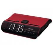Sencor SRC140R piros rádiós ébresztő óra
