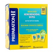 PREPARATION-H 144 Medicated Wipes