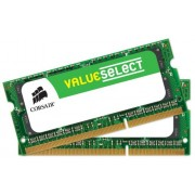 Corsair CMSO16GX3M2A1600C11 Value Select Memoria da 16 GB (2x8 GB), DDR3, 1600 MHz, CL11