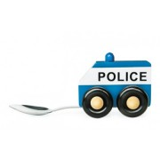 "Baby Spoon ""POLICE"" - Cucchiaio per bambini in legno"