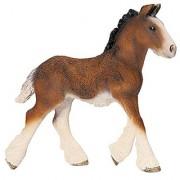 Schleich Shire Foal Toy Figure