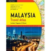 Wegenatlas - Atlas Maleisie - Malaysia Travel Atlas | Periplus