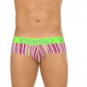 Gigo LINE Brief Underwear Pink