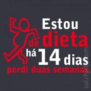 T-shirt Estou de Dieta