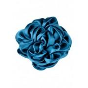 Дамска брошка Роза в синьо