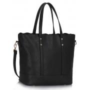 Kabelka LS00361 - Black Women's Large Tote Bag