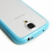 TPU PC Case for Samsung Galaxy S4 i9500 - Blue