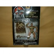 Tarzan-The Epic Adventures-Tarzan Lord of the Jungle-City Of Gold Tarzan with Action Battle Sword-1995