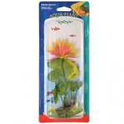 PENN PLAX Rastlina umelá 21,5cm Red Water Lily M