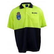 NSW State Of Origin Work Polo - Yellow 2XL