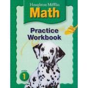 Houghton Mifflin Math: Practice Workbook, Grade 1 by Houghton Mifflin Company