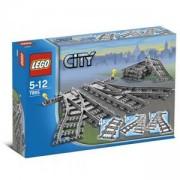 ЛЕГО сити - релси, LEGO City - Switch Tracks, 7895