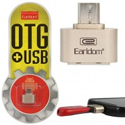 DMG Earldom Micro USB to USB OTG Host Adapter On-The-Go Mini Host Cable Adapter ( Multi-Colour )