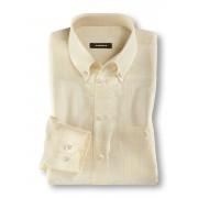 Walbusch 100 Gramm-Sommerhemd Gelb 47/48