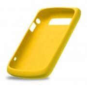 Funda Silicon Blackberry amarilla 8520