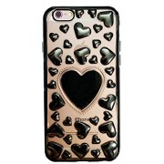 iPhone 5/5s/SE - Unique 3D Hearts for lover - Cute Heart Design Case Transparent Soft Back Cover for iPhone 5, iPhone 5s & iPhone SE
