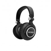 Koss BT540i Full Size Bluetooth Headphones Black with Silver Trim