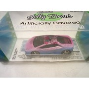 Hot Wheels CUSTOM LAMBORGHINI HURACAN LP 610-4 'Hello Kitty' Real Riders Rubber Wheels in Jelly Beans Display...
