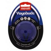 Casca in ureche 3.5mm albastru cu negru, Yoyobuds Maxell - vit_EARPHONE-YOYOBUDSBB-MXL