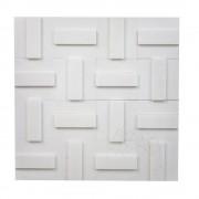 Mozaic Marmura Thassos 3D Tetris Polisata