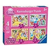 Ravensburger Disney Palace Pets Puzzles (Pack of 4)