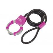Masterlock Street Cuff 8275 Cavo antifurto 1.000 mm rosa Cavi antifurto