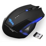 AGPtek Blue Backlit Cobra 2500DPI USB 2.4GHz Wireless Optical Gaming Mouse with DPI Switch for Laptop PC Desktop