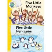 Five Little Monkeys; Five Little Penguins by Brian Moses