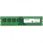 DDR3, 8GB, 1600MHz, Crucial, Unbuffered, CL11 (CT102464BD160B)