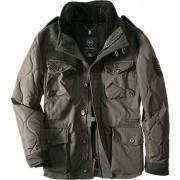 Strellson Sportswear Herren Jacke Wolle olivgrün grün,schwarz