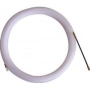 Sondă din mat. plastic pt. tras conductoare, cu cap metalic - L=10m, d=3mm TBSZ-10 - Tracon