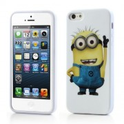 Husa TPU iPhone 5 5s Minioni Jerry Despicable Me 2
